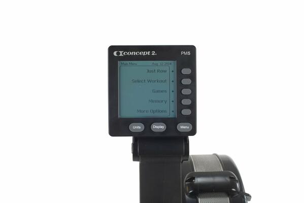 Concept2 Model D Indoor Rowing Machine Performance Monitor